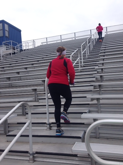 pictures Take Your Workout to the Bleachers Try This Stairs Workout Routine