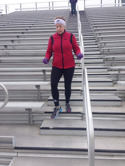 Take Your Workout to the Bleachers Try This Stairs Workout Routine foto