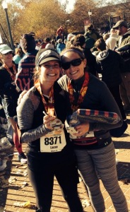 My #1 Running Partner. She made the marathon possible for me!