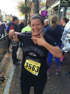 Wine Glass Half Marathon Finisher