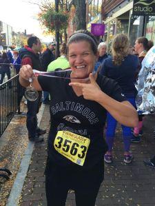 Wine Glass Half Marathon Finisher