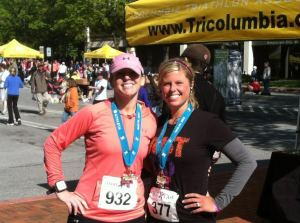 Columbia Iron Girl half