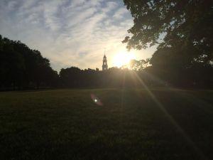 Leg Hall Sunrise