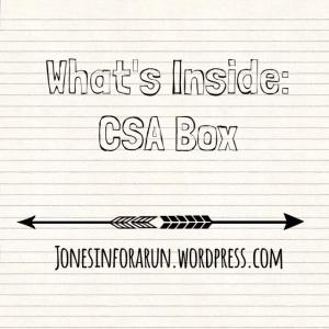 CSA box cover