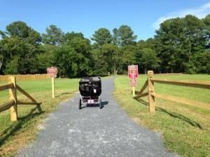 Osprey Lane Trail head