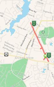 Runkeeper map