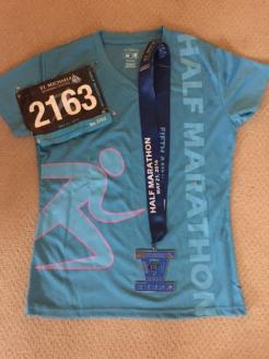 shirt medal and bib