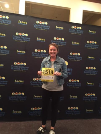 packet pick up bib